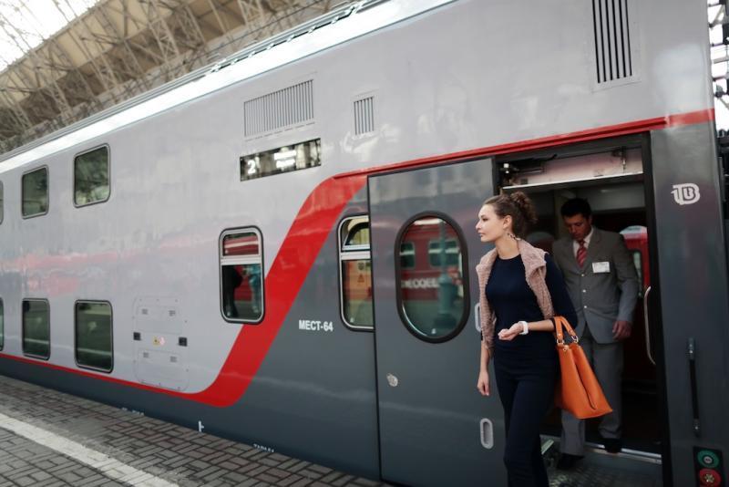 Двухэтажный поезд Москва Петербург, купить билеты онлайн